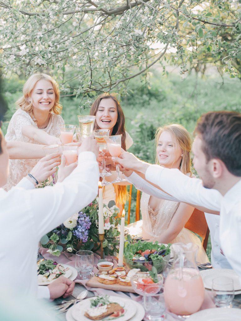 Geniet samen met familie en vrienden van een gezonde leefstijl