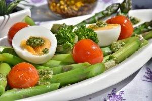 Lente recept 2 gegrilde asperges