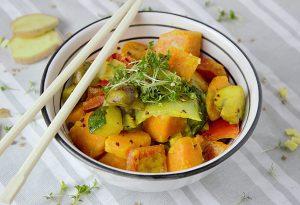 curry met curcuma